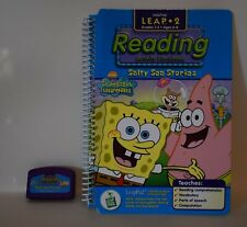 Spongebob Squarepants Salty Sea Stories Storybook for LeapPad LeapFrog System