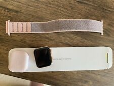 Apple Watch Series 4 40 mm Gold Aluminum Case with Pink Sand Sport Loop (GPS...