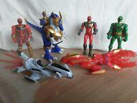 Power Rangers mystic force action figures bundle 2005/2006 bandai