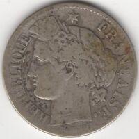 1871K France Silver 2 Francs | Coins | Pennies2Pounds