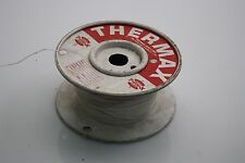 THERMAX 50 FT Silver-Plated Copper Wire 30AWG 300V MIL-W-81822/6-A30-9 White