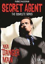Secret Agent aka Danger Man Complete Series DVD Set TV Show Season Collection R1