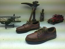 BROWN LEATHER EASTLAND LACE UP DECK BOAT CANOE SHOES 9 M FREEPORT MAINE