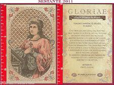 C86 SANTINO HOLY CARD S. SANTA BALBINA DI ROMA VERGINE E MARTIRE 31 MARZO