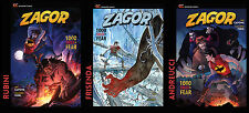 Zagor: 1000 Faces of Fear - All 3 cover versions!!!