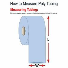 Aviditi Poly Tubing Roll 4 12 X 2150 2 Mil Clear For Custom Sized Poly Bags