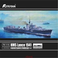 Flyhawk 1/700 1115 HMS Destroyer Lance 1941 top quality Royal Navy