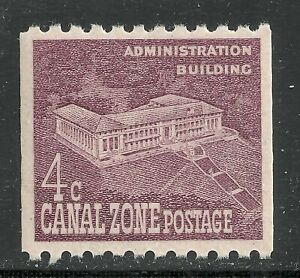 U.S. Possession Canal Zone stamp scott 154 - 4 cent issue of 1960 - mnh 5x