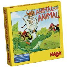 Haba 003409. Animal sobre animal. Juego de mesa. 2-4 jugadores. Más de 4 años