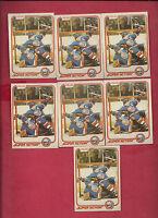 7 X  1981-82 OPC # 209 ISLANDERS DENIS POTVIN SUPER ACTION  CARD