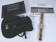 Citizen Eco-Drive Ladies Wrist Watch, Model EG2, in Pouch with Instructions