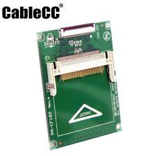 "Compact Flash CF Memory Card per 1.8"" CE Toshiba Ipod ZIF SSD HDD Adattatore Cavo 2"