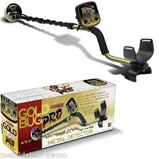 "Fisher Gold Bug Pro Metal Detector with 5"" Dd Waterproof Coil & 5 Year Warranty"