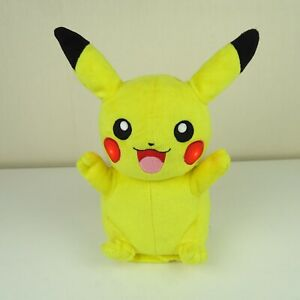 Light Up, Talking Tomy Pikachu Pokemon Plush Toy Tested and Working A