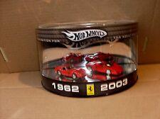 FERRARI  250  GTO  1962  +  FERRARI  ENZO  2003  HOTWHEELS  25691   1:64