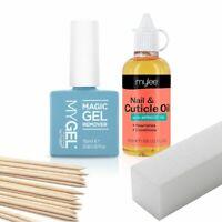 Mylee Magic Remover Gel Nail Polish Cuticle Oil 6min Removal UV LED Manicure