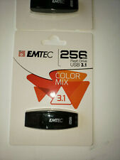 EMTEC C410 256Go Color Mix  3.1 USB (ECMMD256GC410 ) NOIR