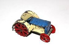 DINKY TOYS PRE WAR 2 tons bleu/crème tracteur # 22E COULEUR RARE!!!