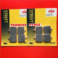 BMW S 1000 RR 08  > 18 SBS Front Sinter Brake Pads OE QUALITY 870Hs OE Quality