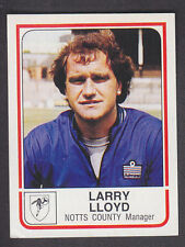 Panini - Football 84 - # 206 Larry Lloyd - Notts County
