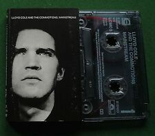 Lloyd Cole & The Commotions Mainstream inc Big Snake + Cassette Tape - TESTED
