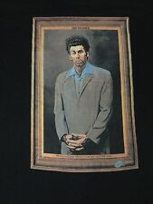 SEINFELD - KRAMER PORTRAIT - JUMBO GRAPHIC -  MEDIUM BLACK T-SHIRT- E1007 A