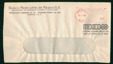 MayfairStamps Mexico 1968 Games Metered Mercantile Bank Cover wwr721