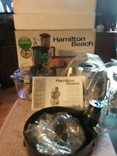Hamilton Beach Model 70820 8-Cup Capacity Stack & Snap Food Processor New