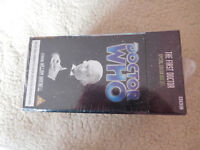 DOCTOR WHO - THE FIRST DOCTOR - SPECIAL EDITION BOX SET - Mint & Sealed  BBC VHS