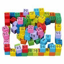 Montessori Spielzeug Einmaleins Mathematik Lernspiel Kinder Geschenk Holz Satz