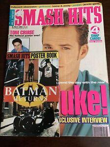 Luke Perry, Jennie Garth, Alyssa Milano, All Rose, Kriss Kross  Smash Hits 1992
