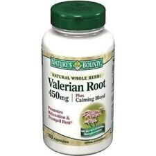 Nature Bounty Valerian Root 450mg Cap 100ct