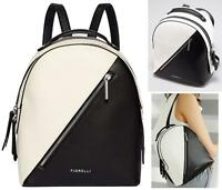BNWT AMAZING Fiorelli Black White Mono Anouk Mini Small Backpack Bag Rucksack