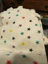 """Nwot """"Joe Boxer"""" Ladies Two Piece Thermal Underwear Small Multi-Color Stars"""
