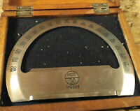 Military Field Navigation Protractor USSR 50s in wooden box Rare