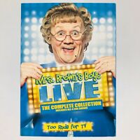 Mrs Browns Boys: Live Too Rude for TV - The Complete Collection (DVD, Region 1)