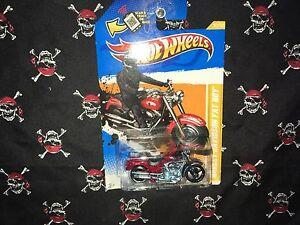 2011 Hot Wheels Harley-Davidson Fatboy 2012 New Models