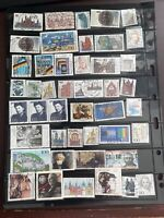 West Germany 45 PCs Used Stamps,1990-1999,very Fine Condition, See Photos