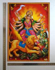 Durga Maa kills Demon Mahishasur - POSTER (Big Size 20 x 28 Inch)