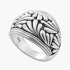 LAGOS Flora Dome Ring in Sterling Silver Size 7