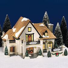 Dept 56 Snow Village® Linden Hills Country Club Brand New Still In Case