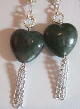 Handmade Natural Heart Costume Earrings