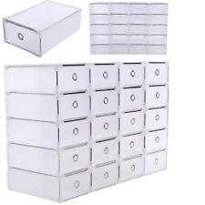 20 Schuhaufbewahrung Schuhbox Schuhkarton Schuhschachtel Sortierbox Organizer