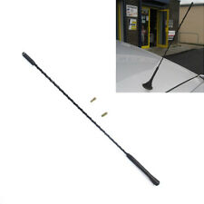"16"" Black Universal Car Roof Mast AM/FM Whip Aerial Antenna For Mazda 3/5/6 BMW"