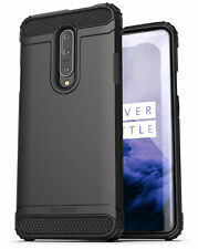 OnePlus 7 Pro Case (Scorpio) Protective Heavy Duty Rugged Phone Cover - Black