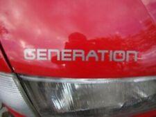 VW T4 NEU Aufkleber Generation Buchstaben Diamantsilber Motorhaube nur 9,99 €