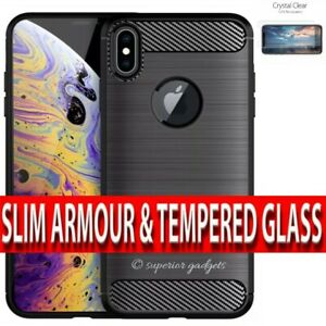 360 Case For iPhone X & XS Ultra Slim Shockproof Hybrid Cover & Screen Protector