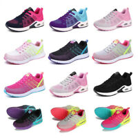 Fashion Women Comfy Gym Shoes Running Trainers Ladies Shock Absorb Sole Sneakers