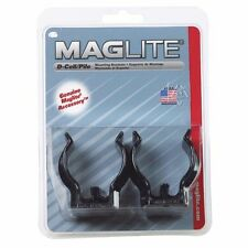 Maglite ASXD026 D-Cell Mag Flashlight Mounting Brackets PK2 (X12613-2*A)