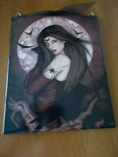 Jessica Gilbreth Ceramic Tile All Hallows Eve 2005 Ready To Hang 8x10 Mint